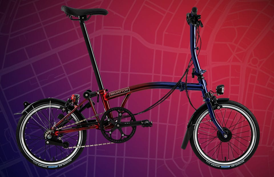 Brompton Bicycle release Nine Streets Edition